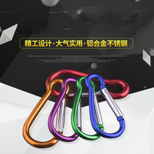Buy Cucurbit mountaineering buckle aviation aluminium alloy outdoor rock water bottle Carabiner Key Chain Clip Travel Climbing Hook directly from merchant!