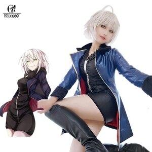 Image 1 - ROLECOS FGO Alter Cosplay Fate Grand Auftrag Anime Kostüme Maische Kyrielight Saber Cosplay Frauen Sexy Kostüme Spiel Jeanne dArc