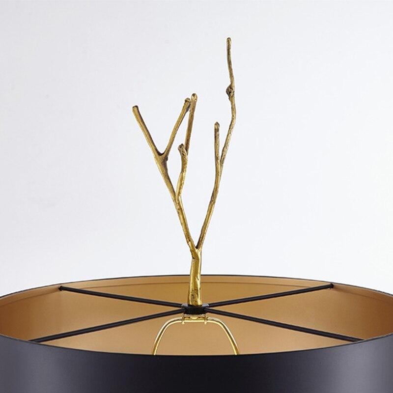nordic cobre lampada de mesa sala estar 04