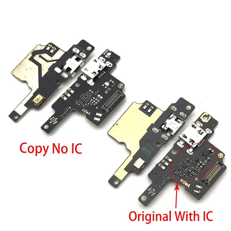 USB плата с зарядным портом шлейф разъема Запчасти для ZTE лезвие V9 Vita микрофонный модуль