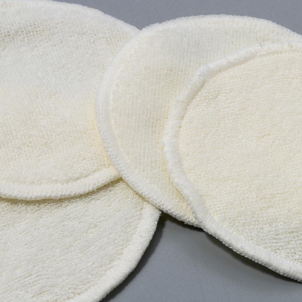 Makeup-Remover-Pads Skin-Care Cotton-Pads Bamboo-Fiber Facial Reusable 12pcs