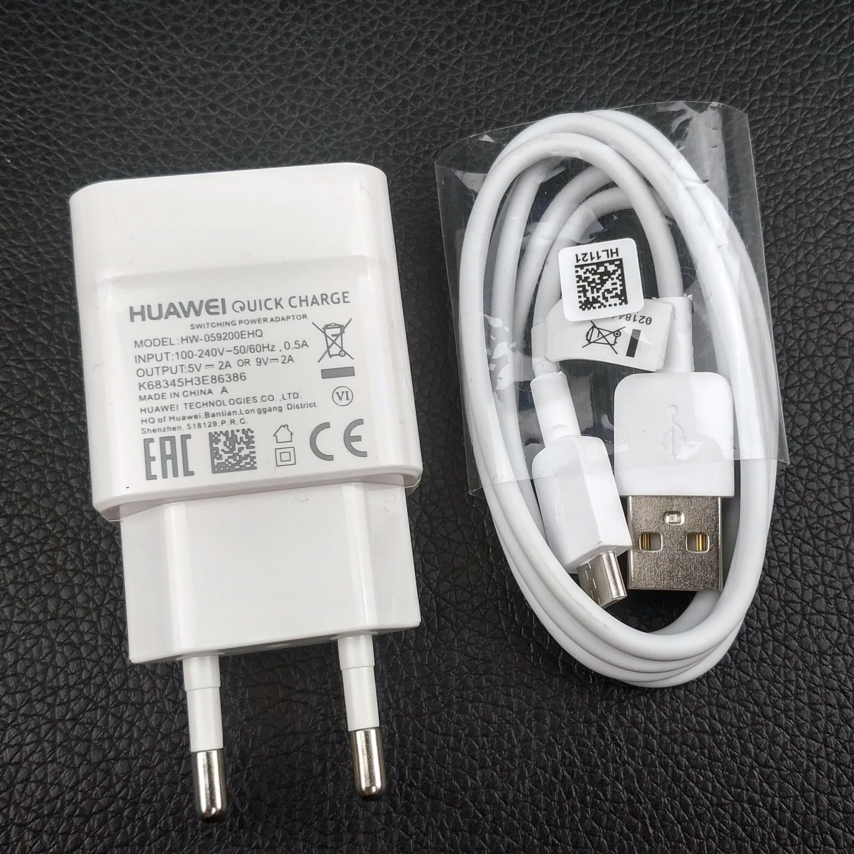 US $3.46 11% OFF|Szybka ładowarka Huawei oryginalny kabel micro usb mate 10 lite p10 lite szybka ładowarka ścienna qc2.0 do P Smart 2019 MediaPad