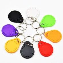 1 pçs/lote t5577 regravável programável rfid 125 khz chaveiro keyfobs key finder para cópia em4100 cartões