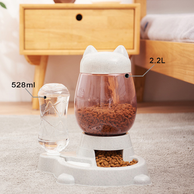 4 Style Pet Cat Bowl Dog for Cats Feeder Bowls Kitten Automatic Drinking Fountain 1.5L Capacity  5