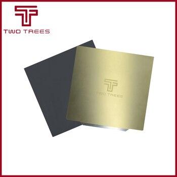 Предварительно приложенный стальной лист 310x31 0/235x23 5/220x220 мм для удаления пружины, гибкий магнитный горячий стикер PEI для CR10 Ender 3, горячий сапф...