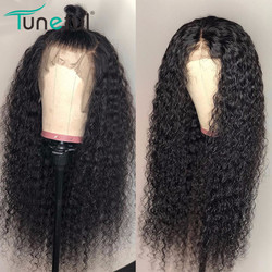 360 lace frontal wig curly pre plucked with baby hair Tuneful Brazilian remy human hair wigs Glueless 360 lace frontal wigs