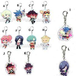 Anime PROMARE Galo Thymos Aina Ardebit Acrylic Keychain Keyring Strap 6cm