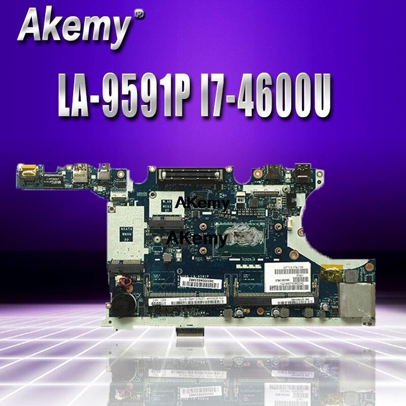 LA-9591P Laptop Motherboard For Dell Latitude E7440 Original Mainboard I7-4600U