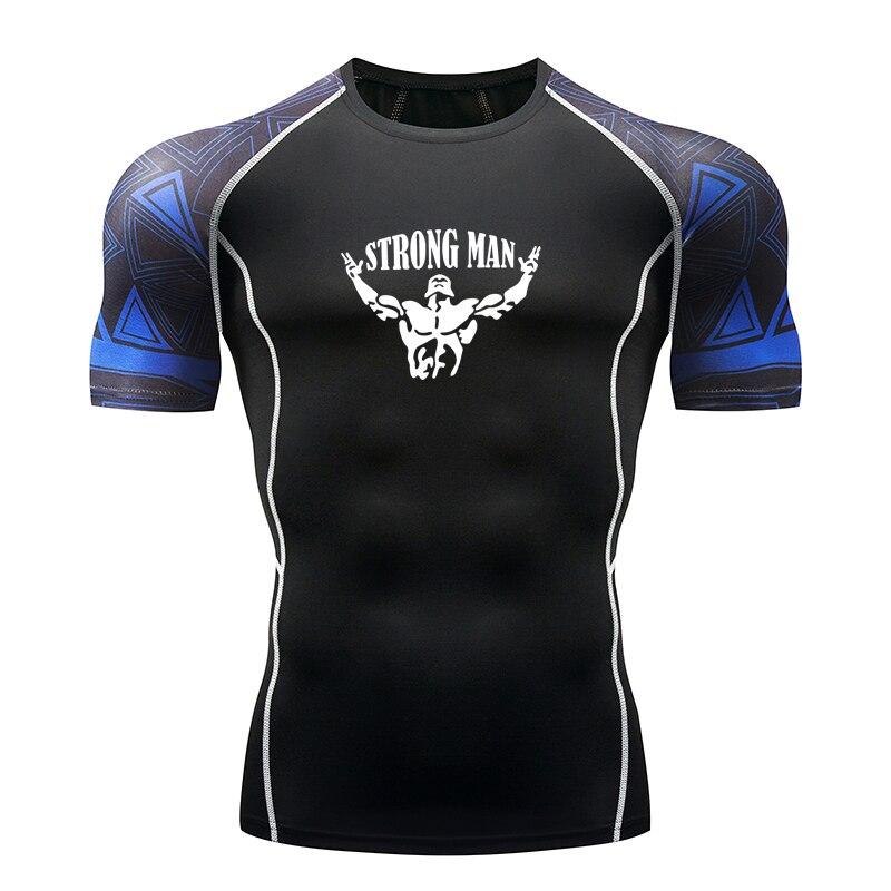 Men 39 s Sports T Shirt Tops Quick Dry Fitness T Shirt Men 39 s Running Shirt Short Sleeve Sportswear Fitness Tights in Running T Shirts from Sports amp Entertainment
