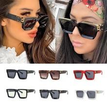 wholesale Vintage Square Sunglasses Women 2020 Luxury Brand