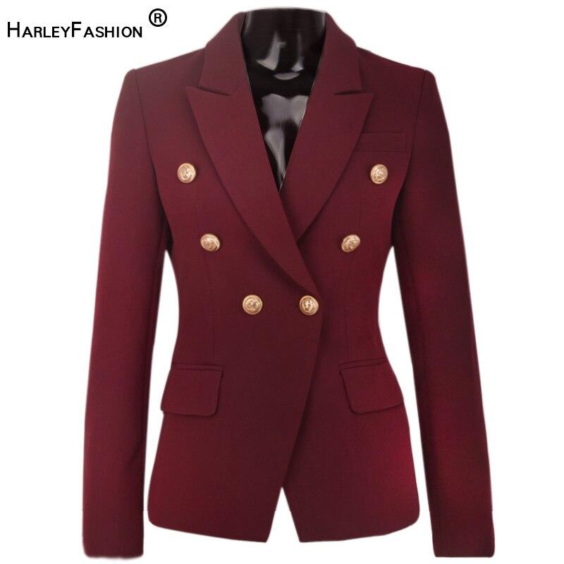 HarleyFashion European American Women Elegant Unique Color Casual Slim Blazer Fall Fitness Female Jacket Blazers