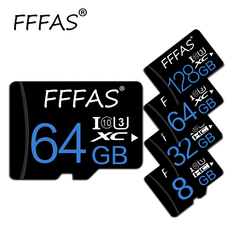 Micro SD 128GB Card TF Flash Memory Card Sdxc 64GB 32GB 16GB 8GB High Speed Class10 For Tablets Samsung Phone Camera