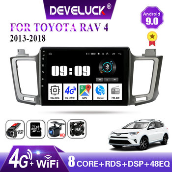 Android 9.0 2 din Car Radio Multimedia Video Player Navigation GPS For Toyota RAV4 4 XA40 5 XA50 2012 - 2018 4G net 2din RDS AM image