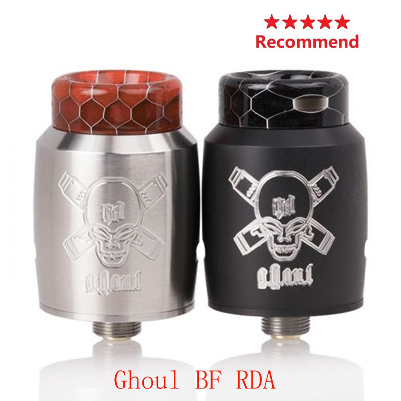 Clearence!! Electronic Cigarette Vape Tank Ghoul BF RDA With 510 Threading Connection VS Hellvape Dead Rabbit V2 BF RDA /ZEUS X