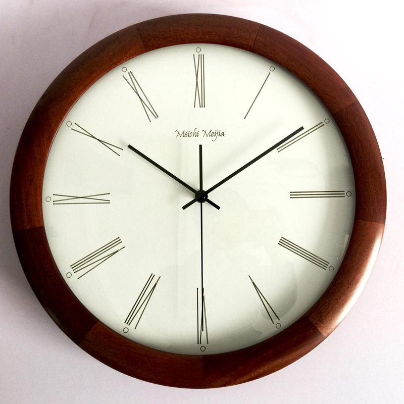 Nordic Large Wall Clock Wood Vintage Luxury Wall Clock Living Room Relol Para Casa Gift Idea Relogio De Parede Home Decor DD50WC