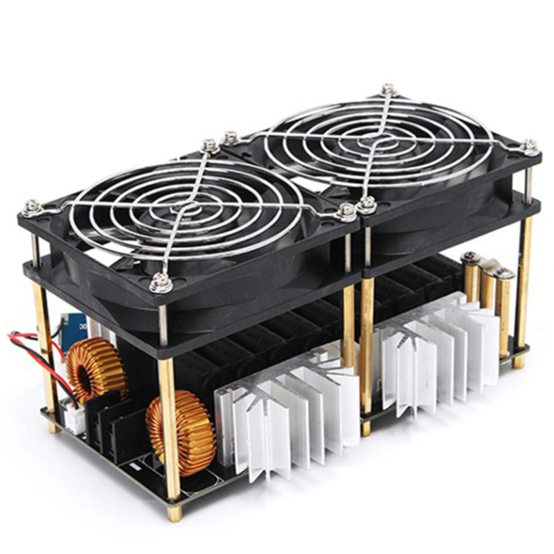 2000W 50A ZVS Induction Heating Board Heater Module Flyback Driver Heater Dissipation Coil Dual Fan with Copper Tube|Magnetic Induction Heaters| |  - title=