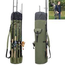 Portable Multifunction Fishing Bag Nylon Bags Rod Case Tackle Tools Storage