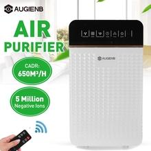 Air Purifier HEPA Filter Negative Ion Air Cleaner Remove Formaldehyde PM2.5 Smoke Dust Automatic Monitors Remote Control 220V EU