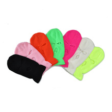Mask Scarf Beanie Balaclava Ski-Cycling-Mask Full-Face-Cover Tactical 3-Hole Hat Warm