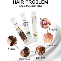 Sevich 10pcs/box Hair Mask Keratin Repair Dry Damaged Replenishment Anti Hair Loss Argan Oil Hair Repair Mask For Moisturizing 3