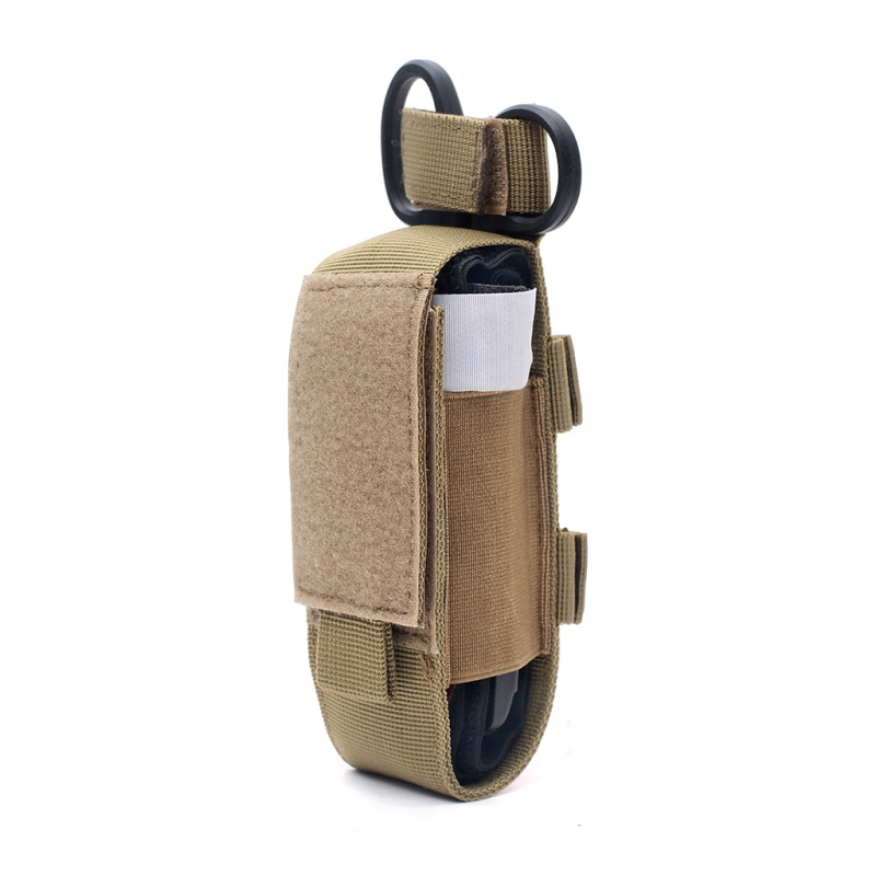 Flashlight Pouch LED Torch Case Outdoor Camping Hiking Molle First Aid Kits Emergency Medical Pocket Flashlight Pouch