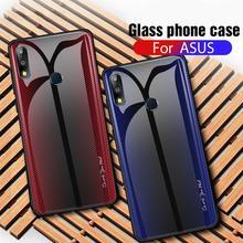 Роскошный чехол для телефона ASUS Zenfone Max Pro M1 M2 ZB601KL ZB602KL ZB631KL ZB633KL закаленное стекло чехол с градиентом