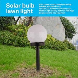 Image 4 - Lote de 6 unidades de luces solares para jardín, bombilla LED resistente al agua, luz para jardín, césped, acampada al aire libre, lámpara de paisaje alimentada por energía Solar