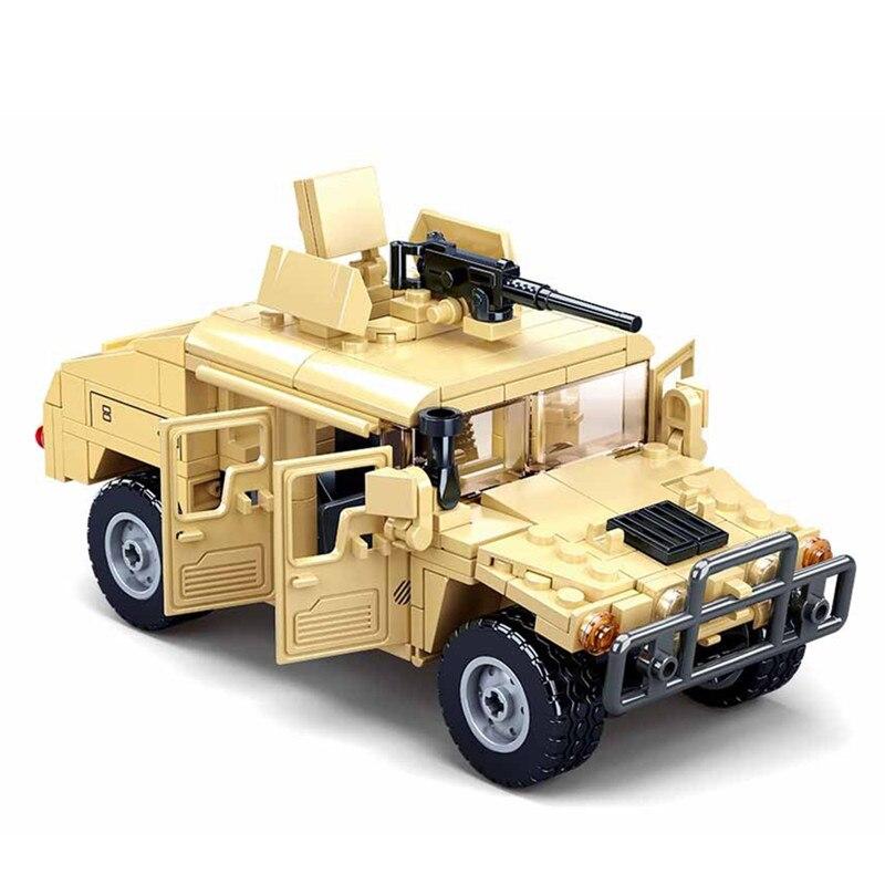 2021 блоки 2-ой мировой войны, WW2 армии военных солдат городская полиция SWAT штурмовой доспех транспортного средства Танк модель конструкторных блоков, Детские кубики, игрушки для детей