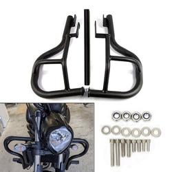 Pour Kawasaki VN650 Vulcan S 650 EN650 2015-2020 moto moteur garde autoroute Crash Bars pare-chocs cascadeur Cage protecteur acier