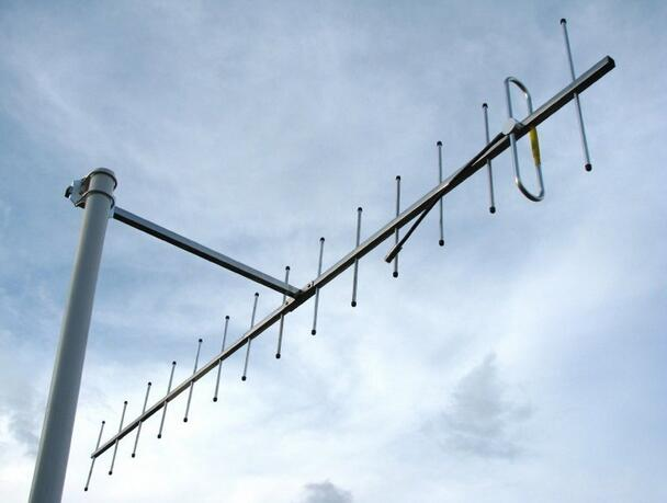 OSHINVOY UHF 435M High Gain 14dBi Yagi Antenna Strong Signal Receiving 15elements Uhf 430mhz 433M 440MHz Yagi Antenna