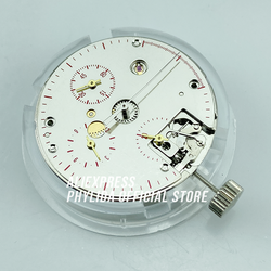 Новая Чайка ST1902 механический хронограф 3 Register ST19 ручная обмотка