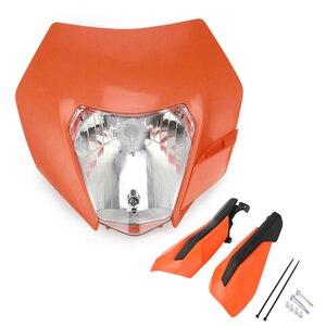Image 5 - Motorfiets Koplamp Koplamp Kuip Met H4 Lamp Voor Ktm Exc Sx Xc Xcw Xcf Xcfw Sxf Smr Excf 125 150 250 300 350 450 530 Atv