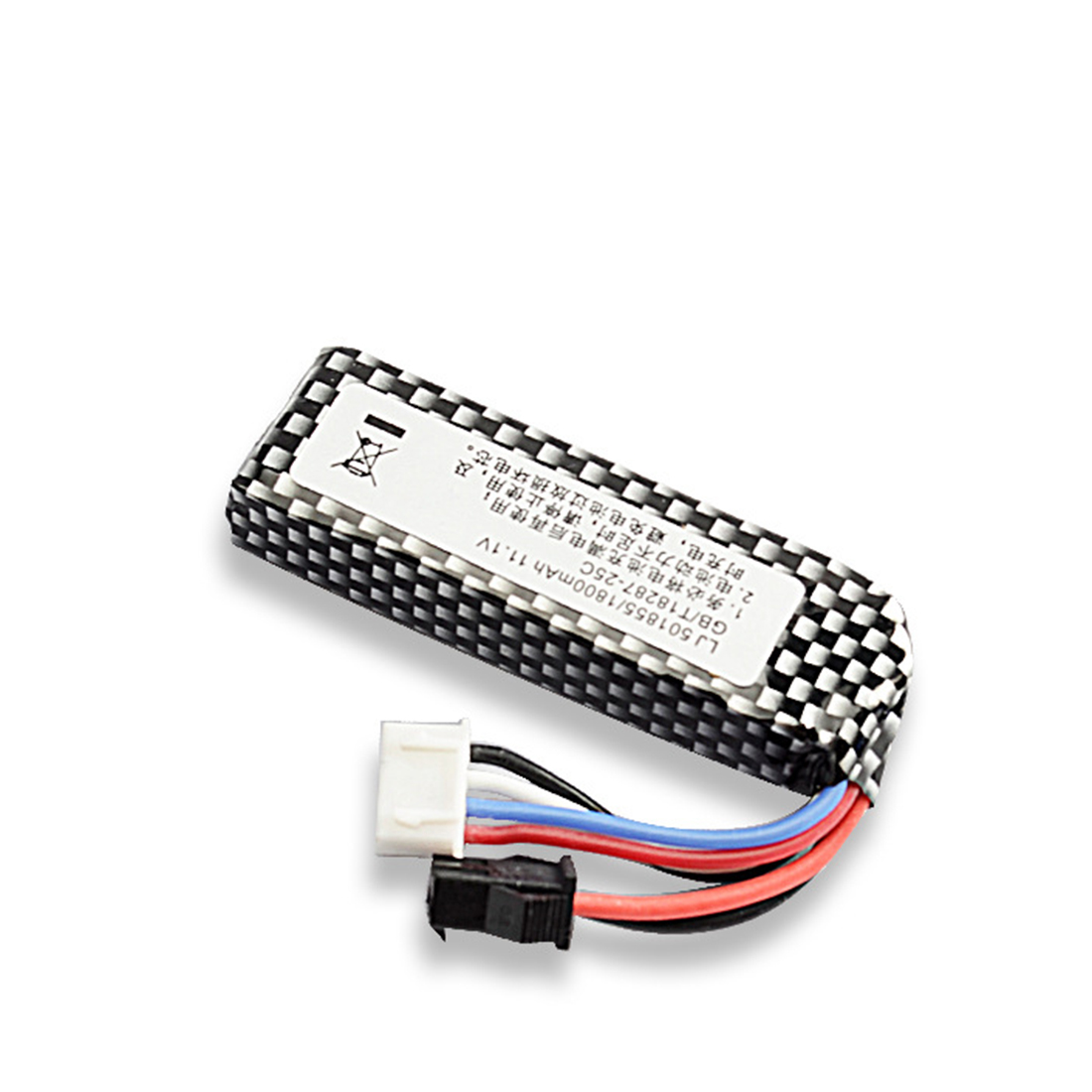 T238 Flash Bomb Flash Bang Standard Battery 11.1v 25c 1400mah Polymer Battery High Discharge Rate Lithium Battery
