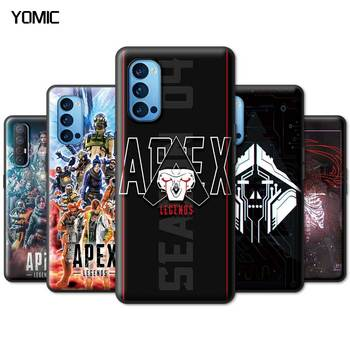 Apex Legends Black Case for Oppo A52 A9 2020 Find X2 Lite A53 A55 A93 Reno 3 4 5G Ace F11 Pro A7 TPU Soft Phone Cover 1