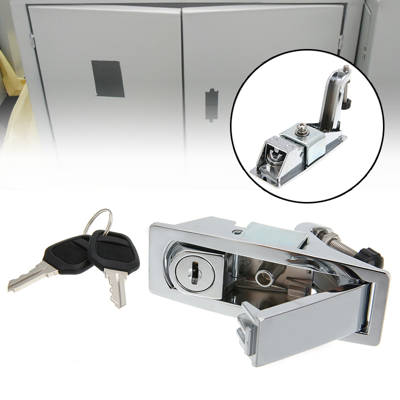 Mayitr 1set Latch Lock Kit Battery Box Tool Box For Peterbilt 386 387 Models C233213 Accessories Parts