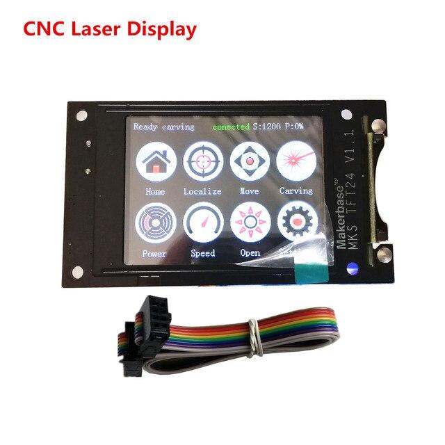 GRBL 1.1 Nhé Bộ Điều Khiển Hiển Thị TFT24 Màn Hình Cảm Ứng Laser CNC Màn Hình LCD Tự Làm Cnc Phần Tương Thích 3018 Pro Laser CNC máy