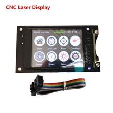 GRBL 1.1 OFFLINE TFT24 controlador de tela LCD monitor de tela sensível ao toque de laser CNC peças cnc diy compatível pro 3018 CNC a laser máquina