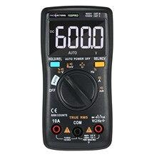 RM102Pro multimetro digitale Auto 6000 conta retroilluminazione AC/DC voltmetro resistenza capacità temperatura multimetro Tester