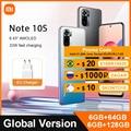 Globale Version Xiaomi Redmi Hinweis 10 S 6GB 64GB/128GB handy 10 S 64MP Quad kamera Helio G95 AMOLED DotDisplay 33W 5000mAh