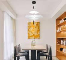 European style modern acrylic led chandelier studio restaurant kitchen exhibition hall lamp designer chandelier interior lightin