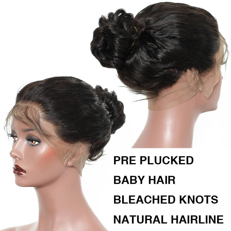 Eseewigs Pre Plucked Full Lace Human Hair Wigs With Baby Hair 150% Glueless Brazilian Curly Full Lace Wig For Women