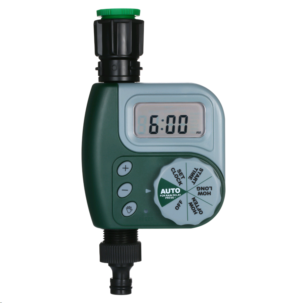 Automatic Digital Garden Water Timer Watering Irrigation System Controller with Filter title=