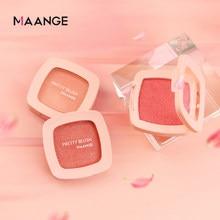 MAANGE – Palette de fard à joues naturel, 1 pièce, poudre minérale pour le visage, nouveau