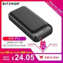 BlitzWolf BW-P11 18W QC3.0 PD Power Bank 20000mAh External B
