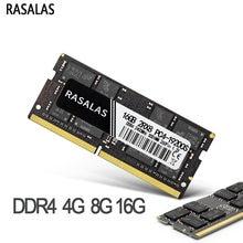 Rasalas Memroy Ram DDR4 8G 4G 16G Laptop 1333 2400 2666 17000 19200 21300Mhz 1.2V 260PIN Sodimm Memoria Ram Voor Notebook DDR4
