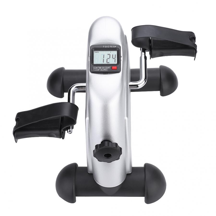 Мини-педаль шаговый домашний тренажер для мышц Фитнес ЖК-дисплей педаль с дисплеем велосипед ног силовых упражнений тренировочный инструм...