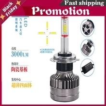 Dland M8 360 Degree Glowing Car Led Light Bulb Lamp With Seoul 2800lm 12v 24v 26w H1 H3 H7 9006 9005 H9 H11 D2h D1s D2s D5s