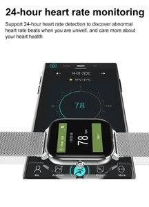 Image 3 - Đồng Hồ Thông Minh Smartwatch IP68 Chống Nước Điện Tâm Đồ Đồng Hồ Thông Minh Huyết Áp Đo Nhịp Tim Theo Dõi Sức Khỏe DT X DTX 1.78 Màn Hình HD Cho android