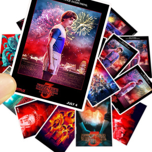 Image 5 - 50Pcs/Lot Newly TV Series Stranger Things 3 Stickers For Laptop Motorcycle Skateboard Luggage Decal Toy DIY Sticker