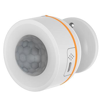 Tuya ZigBee inteligentny czujnik PIR czujnik ruchu 3 w 1 czujnik wbudowany czujnik temperatury i wilgotności zasilany przez USB bezprzewodowy czujnik podczerwieni tanie i dobre opinie centechia NONE CN (pochodzenie) PIR Motion Sensor PIR Motion Sensor(Built-in T H Detector) 2 * CR123A 3V (not included)